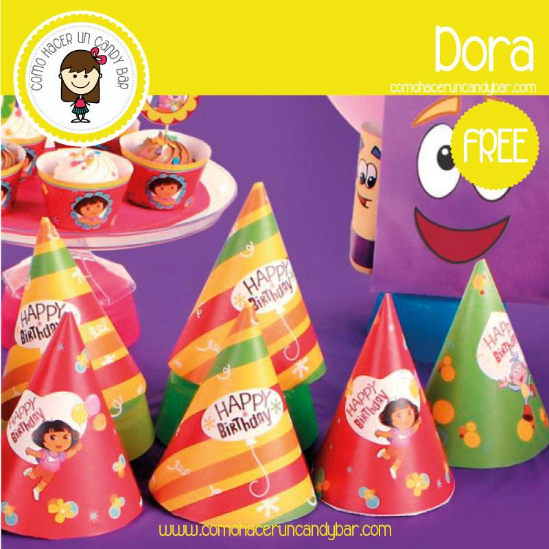 gorro Dora para descargar