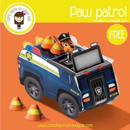 auto policia paw patrol para descargar