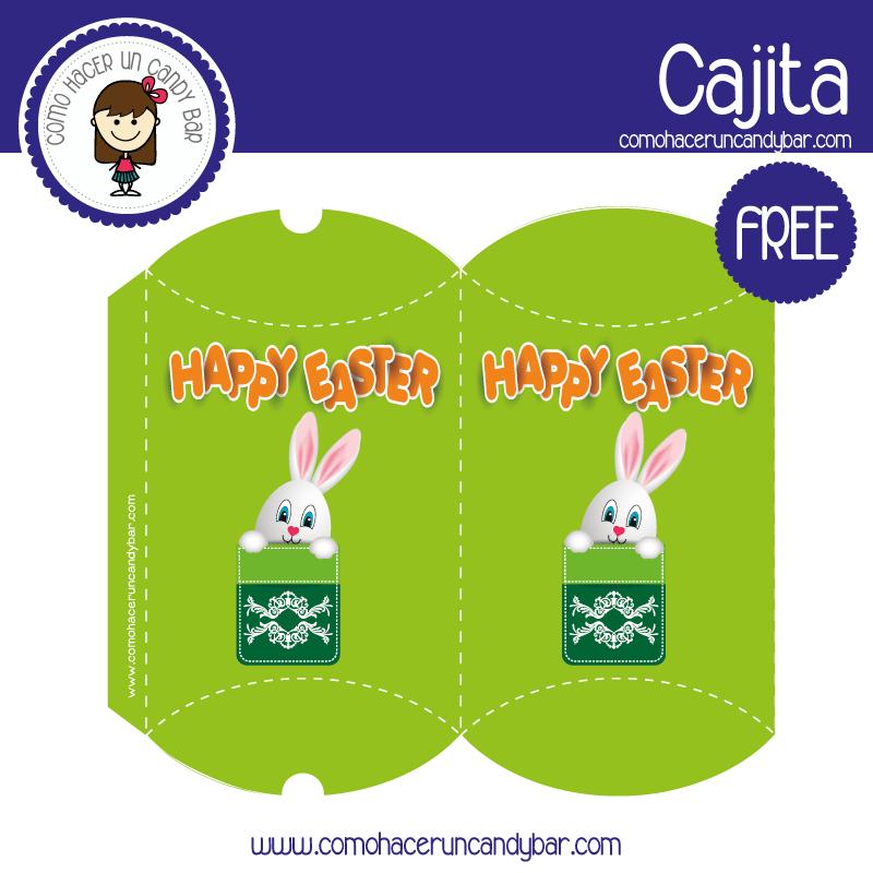 imprimible caja de pascua 5 para descargar gratis