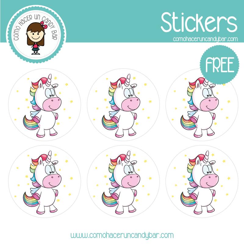 stickers de unicornio 2 para descargar gratis