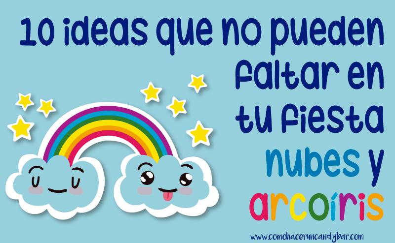 10 ideas para decorar tu fiesta infantil de nubes