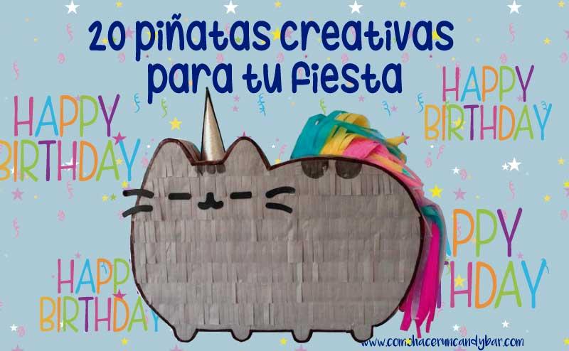 20 piñatas creativas para tu fiesta