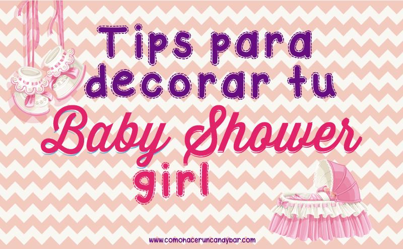 tips para decorar tu baby shower