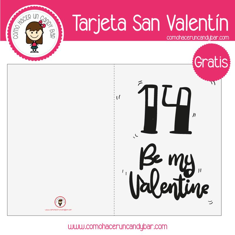 Tarjeta de san valentin gris para descargar gratis