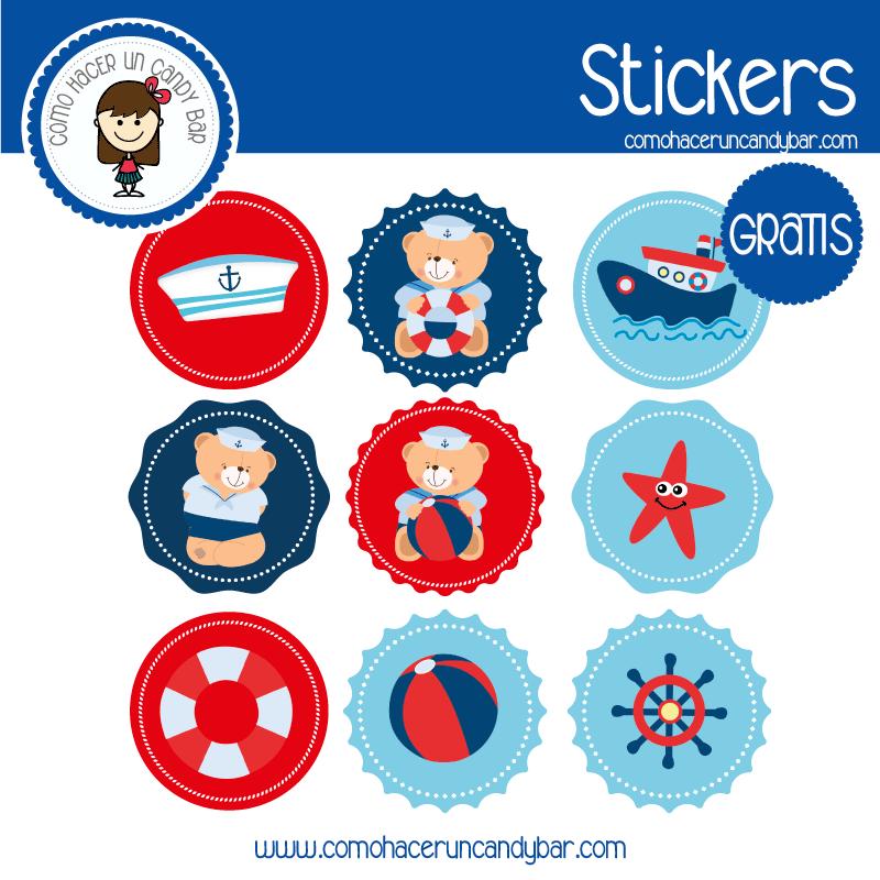 Stickers para descargar gratis de baby shower