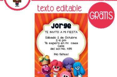 Invitación de jelly jamm 2 para descargar gratis