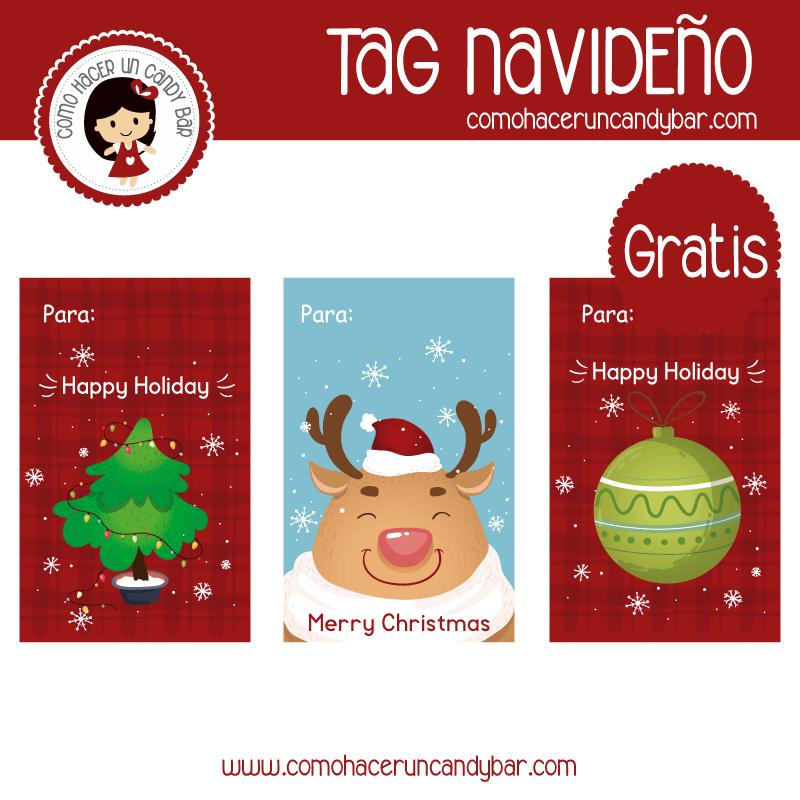 imprimibles gratis tarjetas navideñas gratis