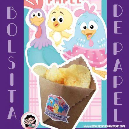 Sticker Gallina Pintadita