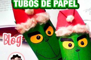caja navideña grinch